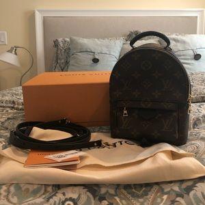 Louis Vuitton Palm Spring Mini Backpack - NWT